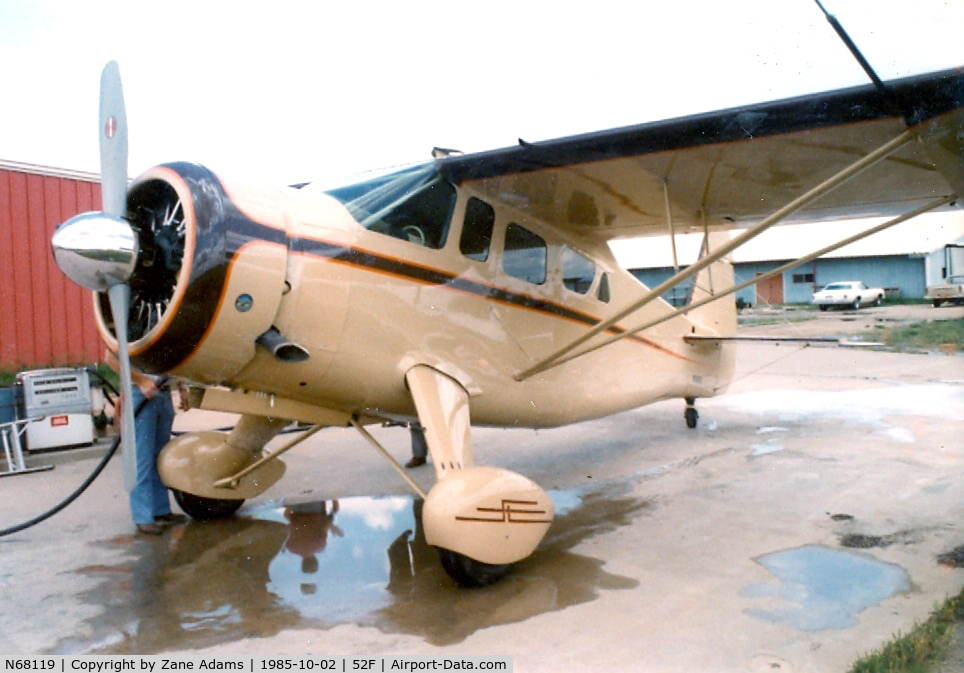 N68119, Howard Aircraft DGA-15P C/N 0000, At Aero Valley ( Northwest Regional) this aircraft involved in an accident 10/16/88 - http://www.ntsb.gov/ntsb/brief.asp?ev_id=20001213X27093&key=1