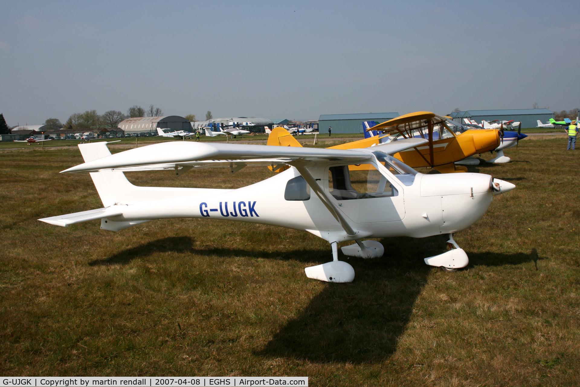 G-UJGK, 2001 Jabiru UL-450 C/N PFA 274A-13558, JABIRU
