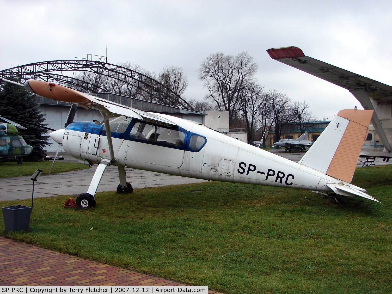 SP-PRC, 1989 PZL-Okecie PZL-105 Flamingo C/N Prototype, One of two prototypes preserved at the Poland Aviation Museum in Krakow