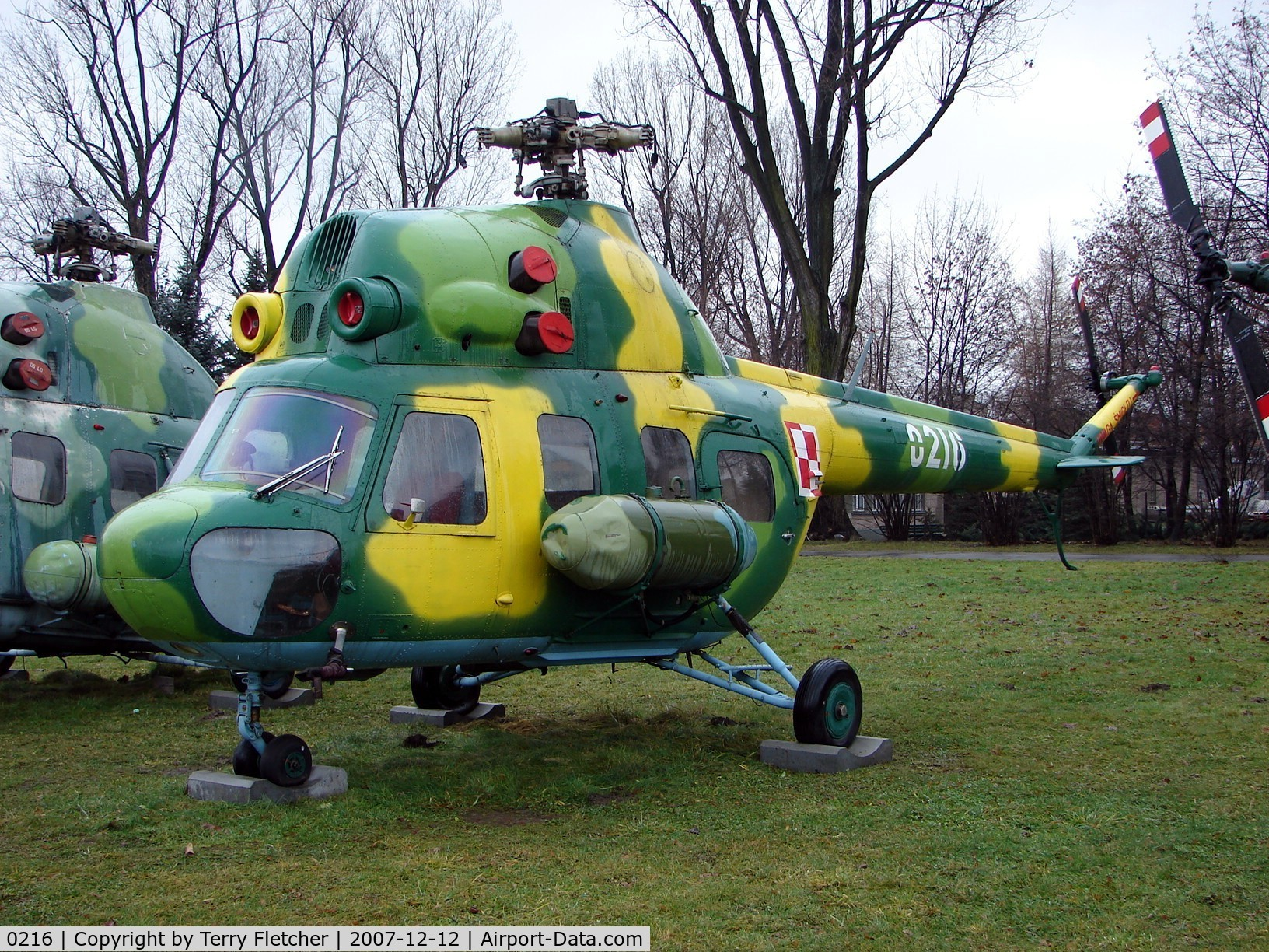 0216, 1967 PZL-Swidnik Mi-2T Hoplite C/N 530216116, This Mil Mi-2T c/n 530216116 is preserved at the Poland Aviation Museum in Krakow