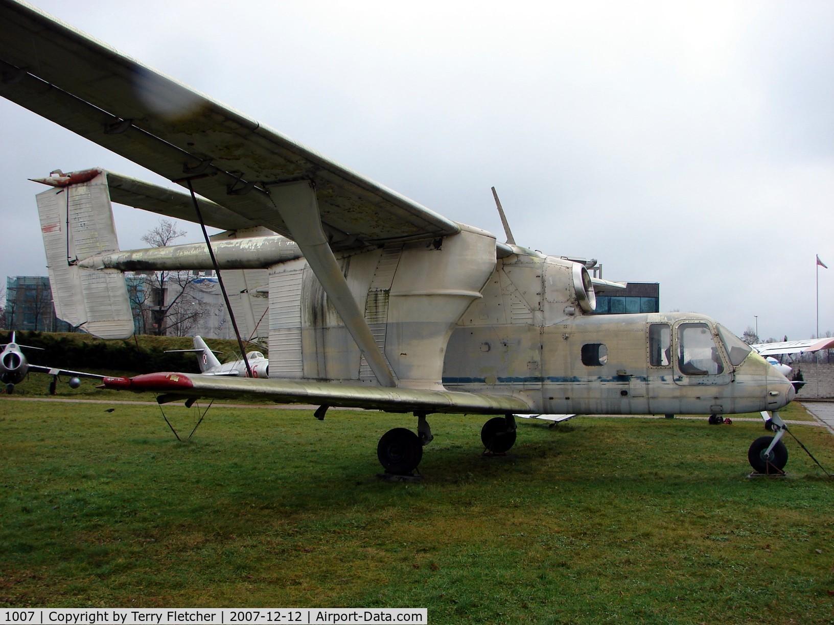 Aircraft 1007 (PZL-Mielec M-15 Belphegor C/N 1S006-01) Photo
