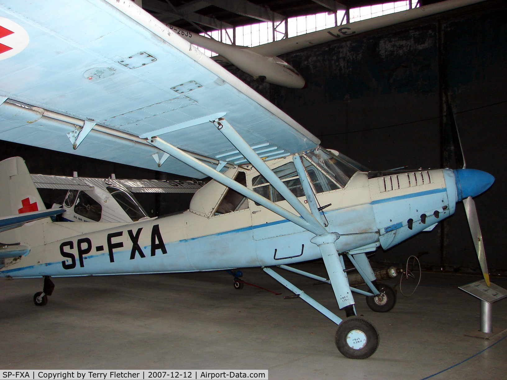 SP-FXA, Aero L-60E Brigadyr C/N 150723, This Let L60E Air Ambulance is preserved at the Poland Aviation Museum in Krakow