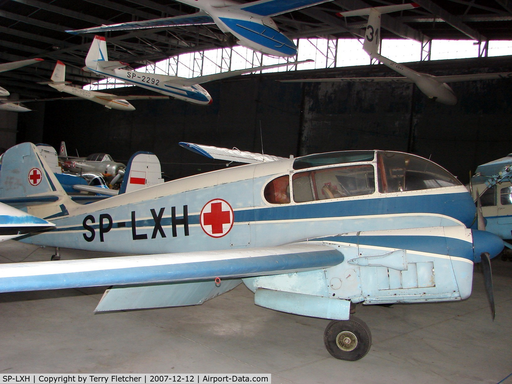 SP-LXH, Let Ae-145 Super Aero 145 C/N 172011, Aero 145 used as a Polish Air Ambulance and now preserved at the Poland Aviation Museum in Krakow