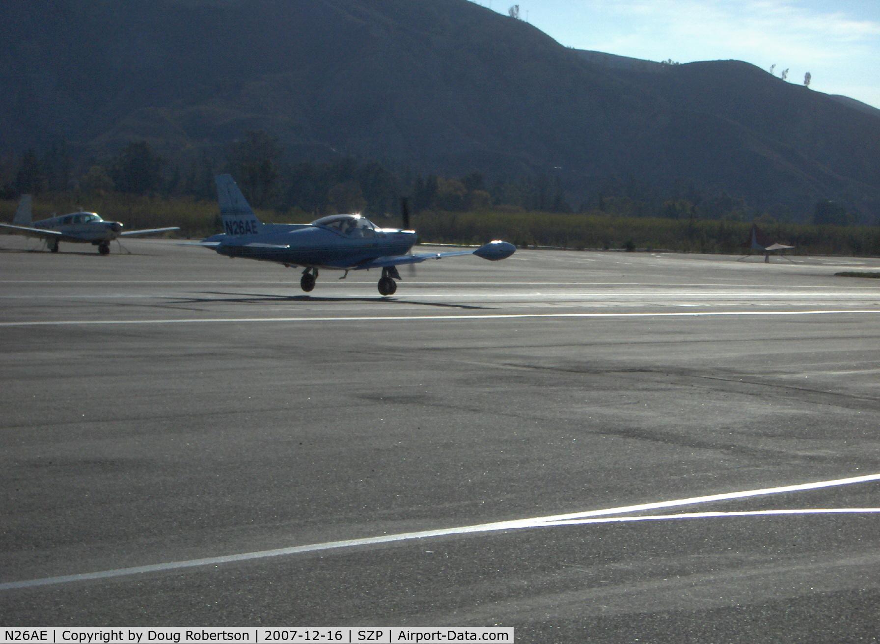 N26AE, 1976 SIAI-Marchetti SF-260B C/N 230/21-06, 1976 Siai-Marchetti SF.260B, Lycoming O-540-E4A5 260 Hp, taxi to Rwy 22
