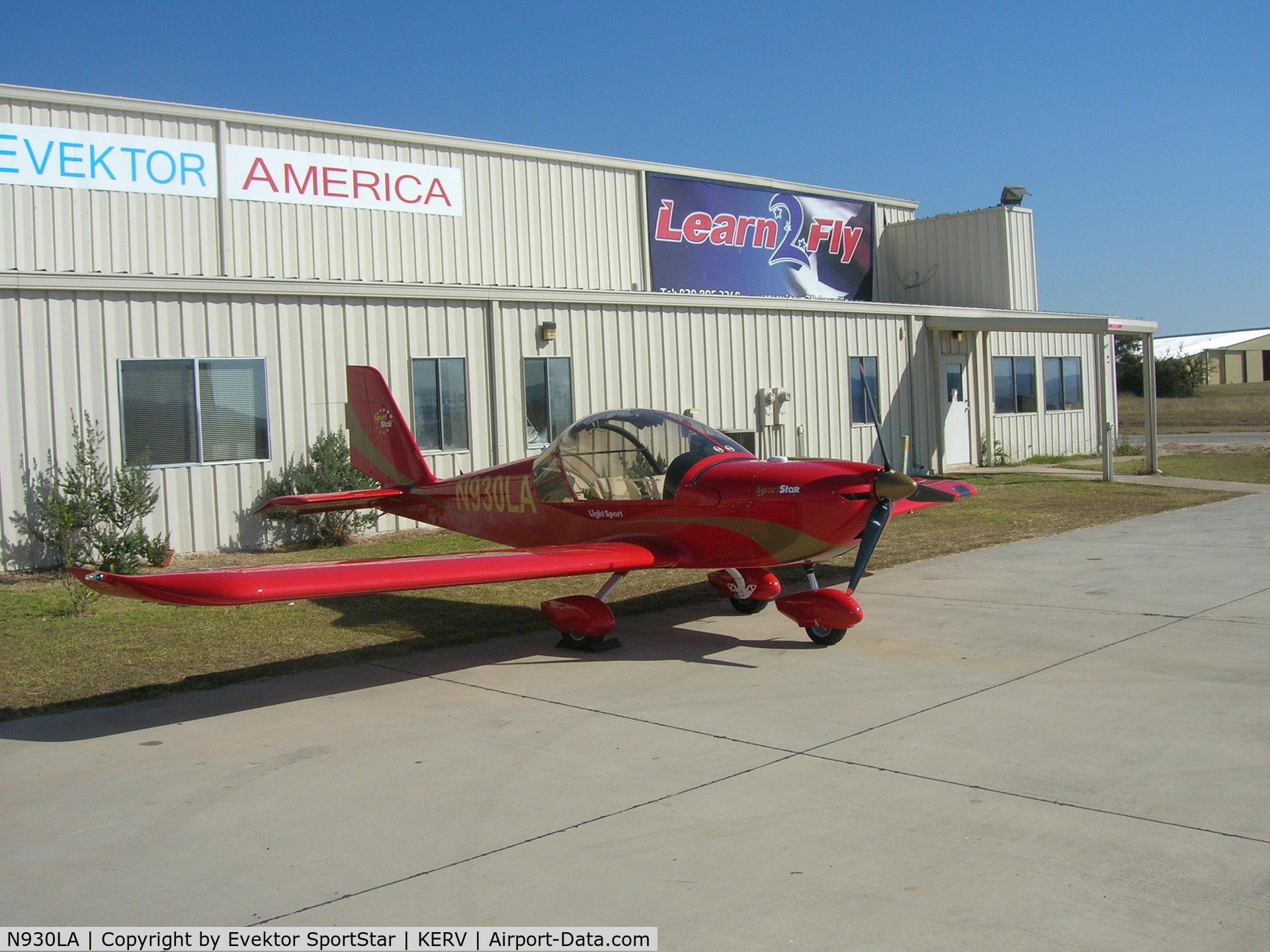 N930LA, 2007 Evektor-Aerotechnik SPORTSTAR PLUS C/N 20070930, Evektor SportStar Light Sport Aircraft SLSA Sport Star