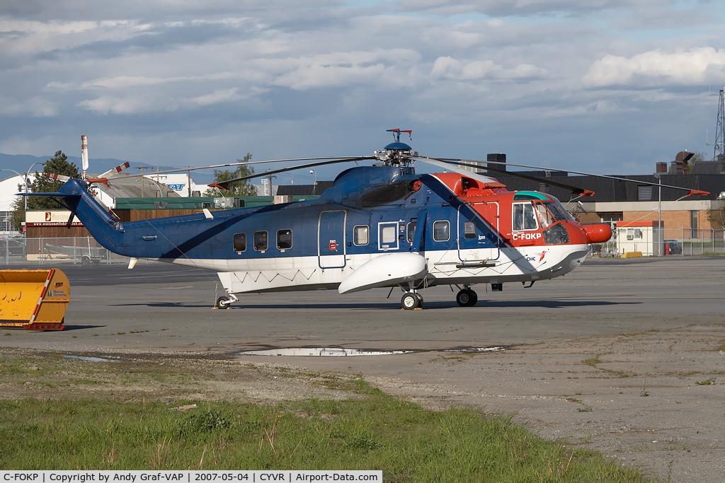 C-FOKP, 1965 Sikorsky S-61N C/N 61297, CHC Helicopter S-61