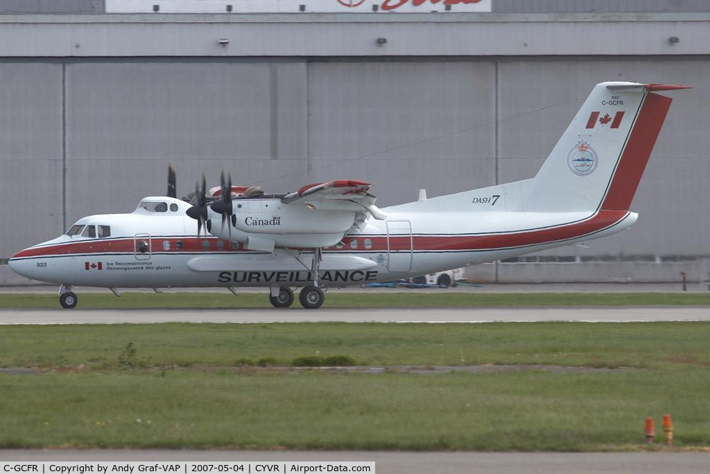 C-GCFR, 1985 De Havilland Canada DHC-7-150 Dash 7 C/N 102, Transport Canada DHC-7