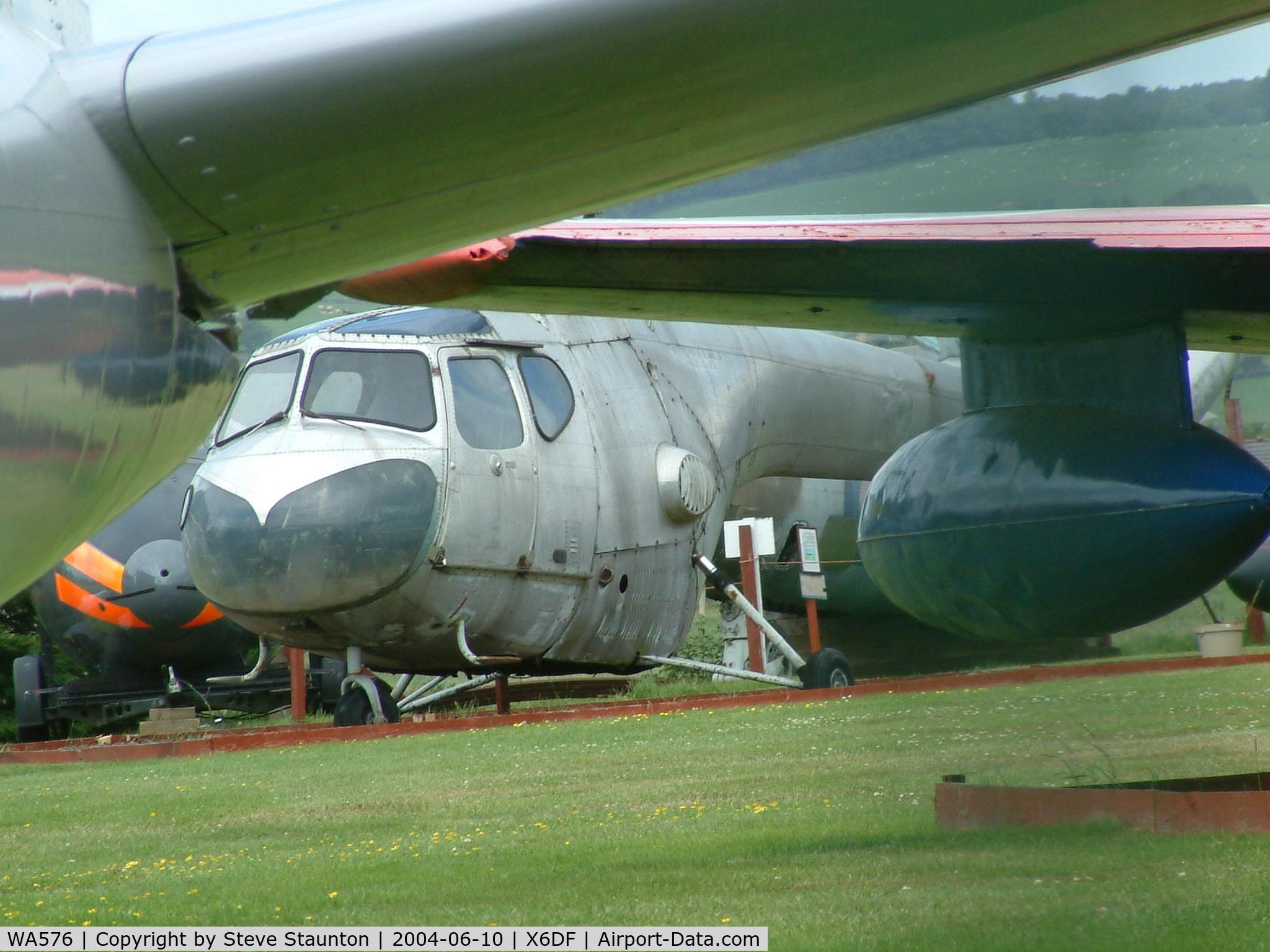 WA576, 1950 Bristol 171 Sycamore Mk.3 C/N 12887, Taken at Dumfries & Galloway Aviation Museum, 10th June 2004
