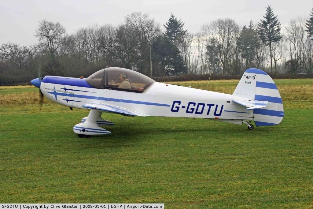 G-GDTU, 1983 Mudry CAP-10B C/N 193, Previous ID: F-GDTU