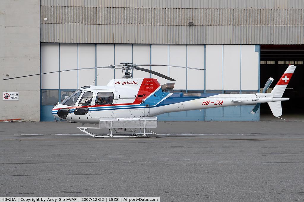 HB-ZIA, 2006 Eurocopter AS-350B-3 Ecureuil C/N 4163, Air Grischa Aerospatile AS350