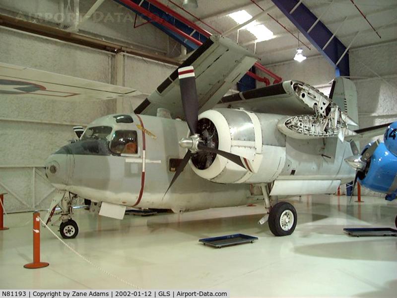 N81193, 1955 Grumman C-1A Trader C/N 146052, At Lone Star Flight Museum