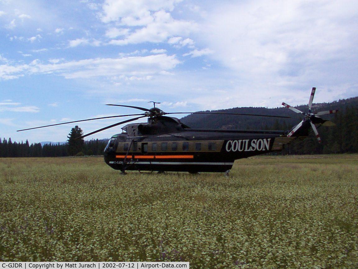 C-GJDR, 1968 Sikorsky S-61L C/N 61428, near Mohawk, CA
