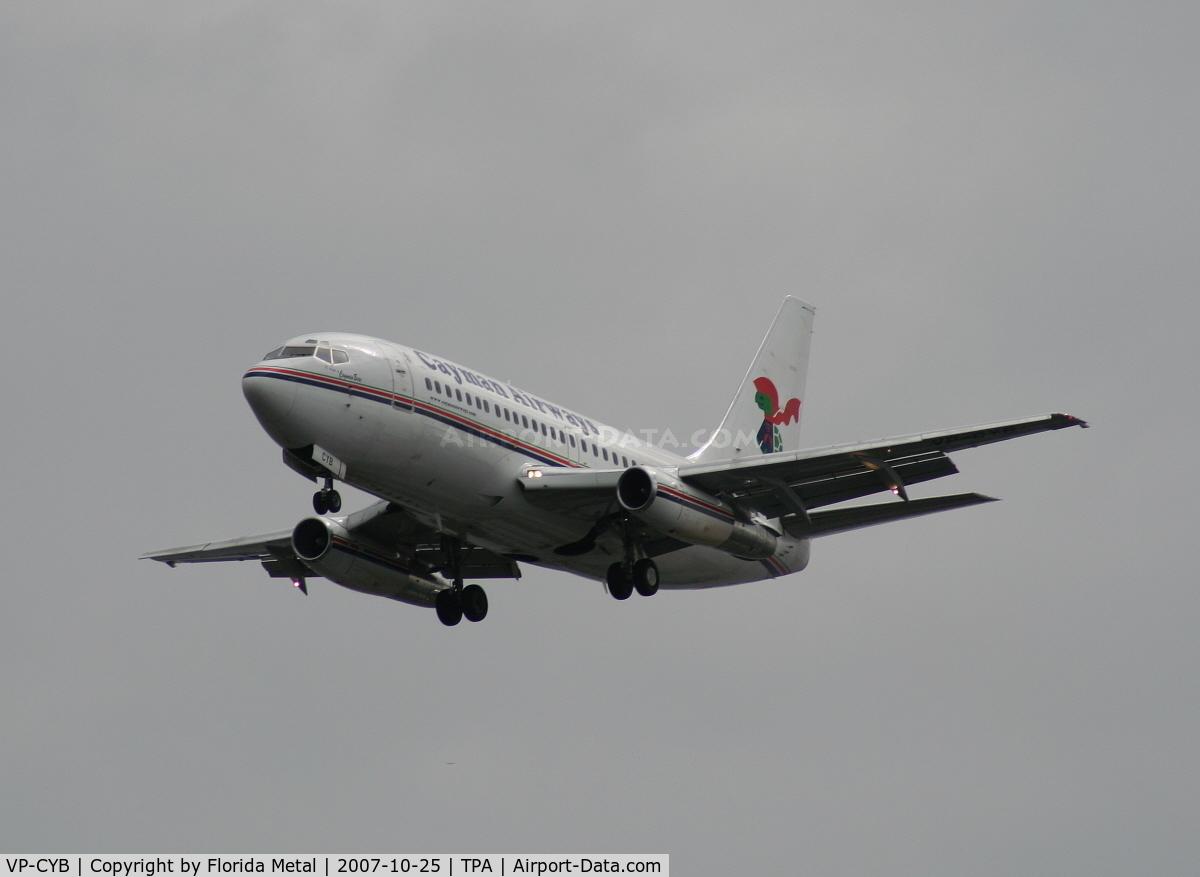 VP-CYB, 1979 Boeing 737-2S2C C/N 21929, Cayman Airways