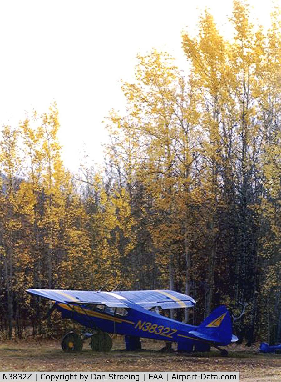 N3832Z, 1961 Piper PA-18-150 Super Cub C/N 18-7575, Airstrip @ Eagle Alaska