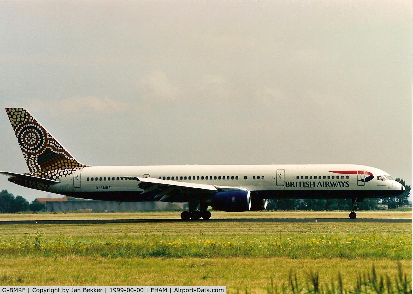 G-BMRF, 1988 Boeing 757-236 C/N 24101, Schiphol