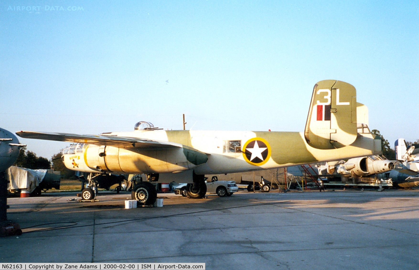 N62163, 1944 North American B-25J C/N 44-86697, Killer B at Reilly Aviation