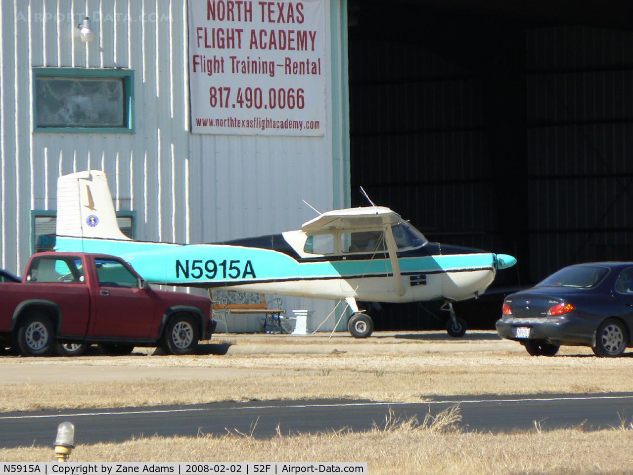 N5915A, 1956 Cessna 172 Skyhawk C/N 28515, At Aero Valley (Northwest Regional)