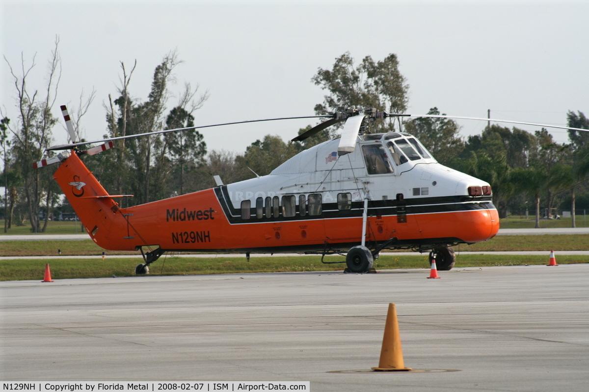 N129NH, 1958 Sikorsky S-58JT C/N 58-855, Sikorsky S-58