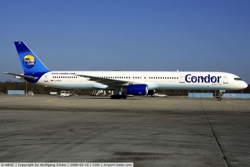 D-ABOC, 1998 Boeing 757-330 C/N 29015, visitor