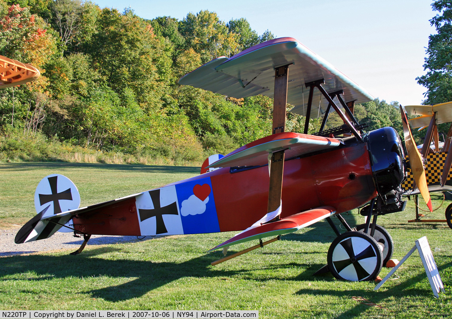 over the role of Red Baron