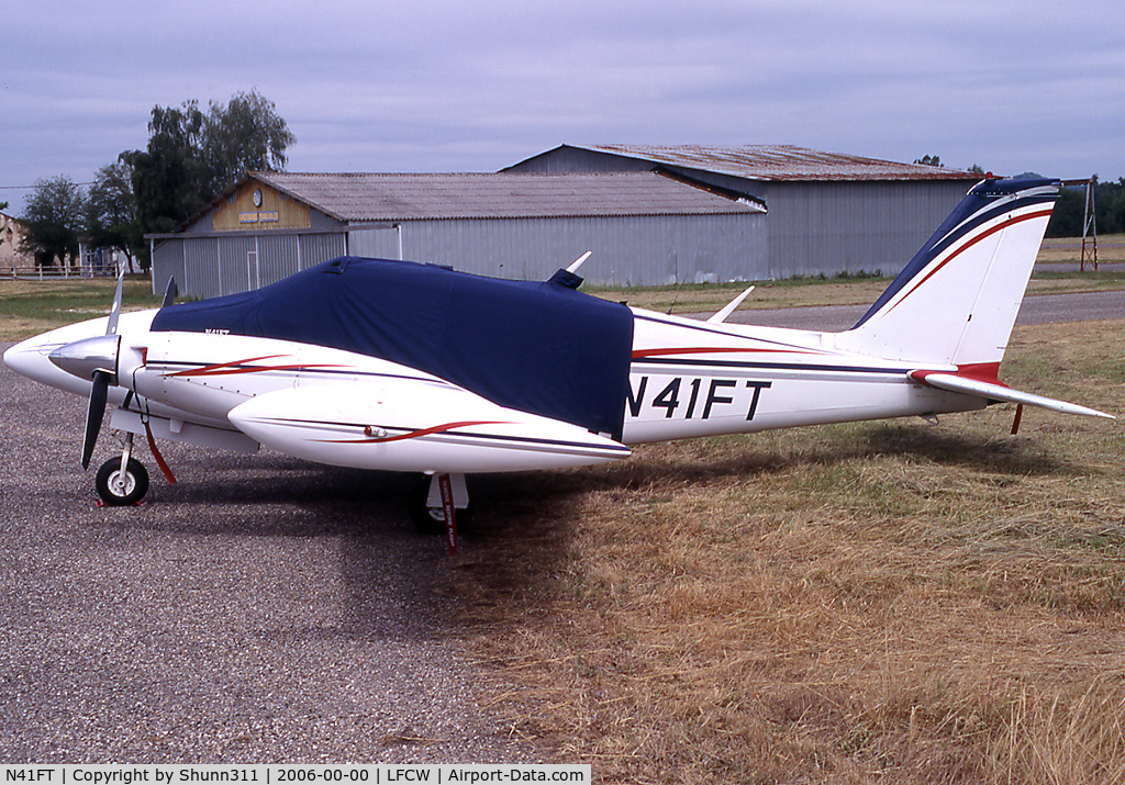 N41FT, 1970 Piper PA-39 Twin Comanche C/N 39-59, Parked at this airfield