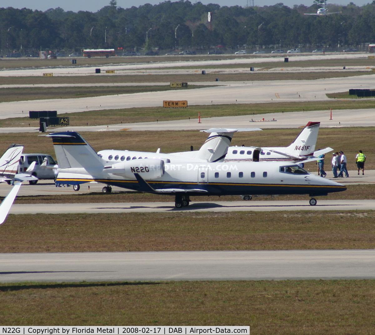 N22G, 1993 Learjet 60 C/N 022, Goodyear's Lear 60
