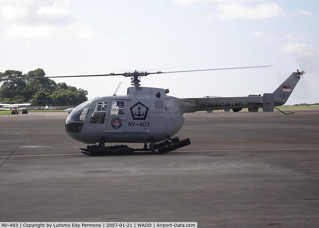 NV-403, MBB Bo-105 C/N S-258, Indonesian Navy