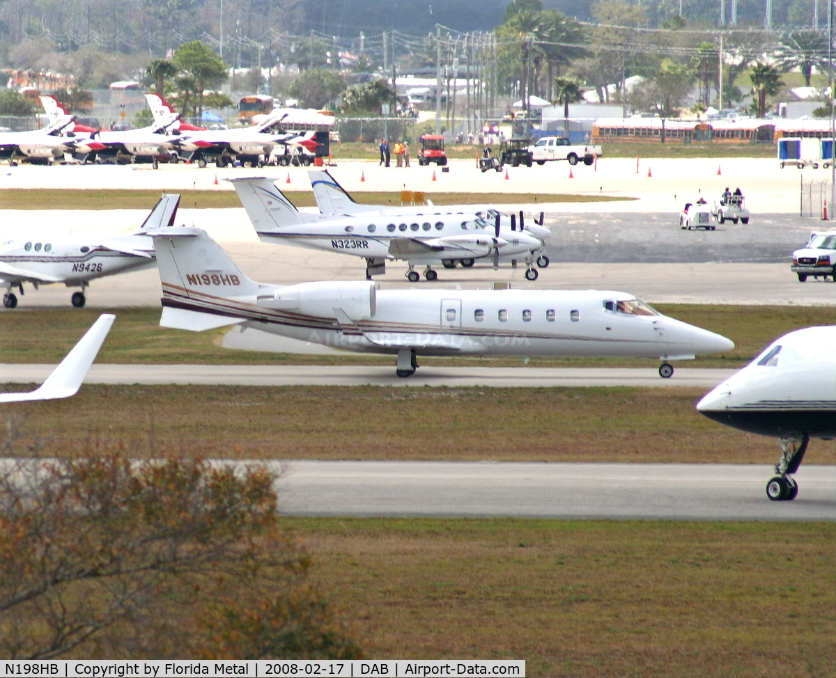 N198HB, 2000 Learjet Inc 60 C/N 198, Lear 60