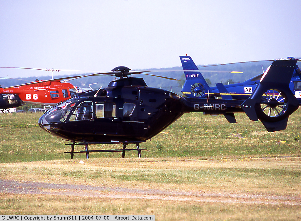 G-IWRC, 2002 Eurocopter EC-135T-2 C/N 0241, During Magny Cours Formula One GP 2004