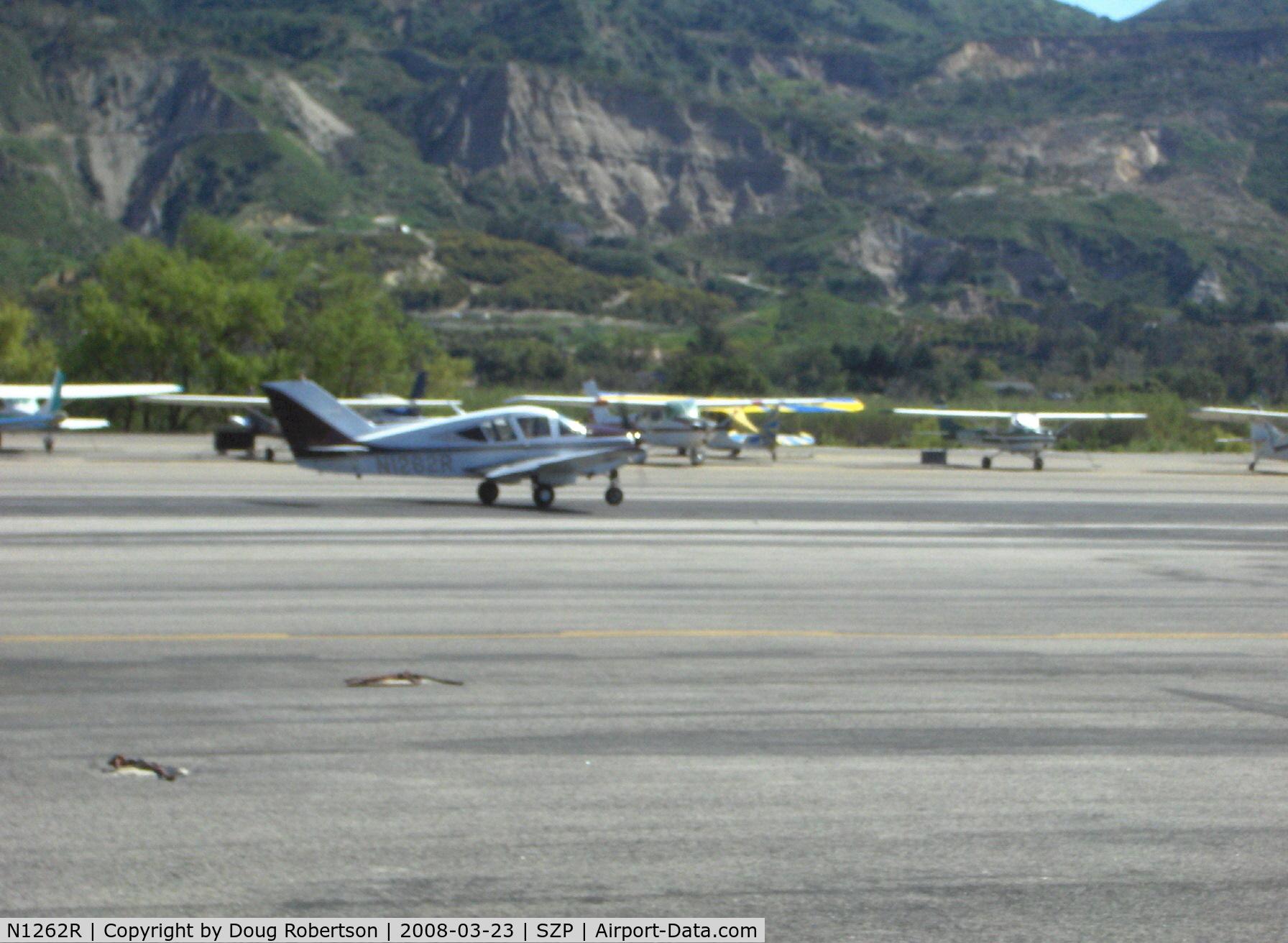 N1262R, 1967 Bellanca 14-19-3 Cruisair Senior C/N 4336, 1967 Bellanca 260C model 14-19-3, Continental IO-470-F 260 Hp, takeoff roll Rwy 22
