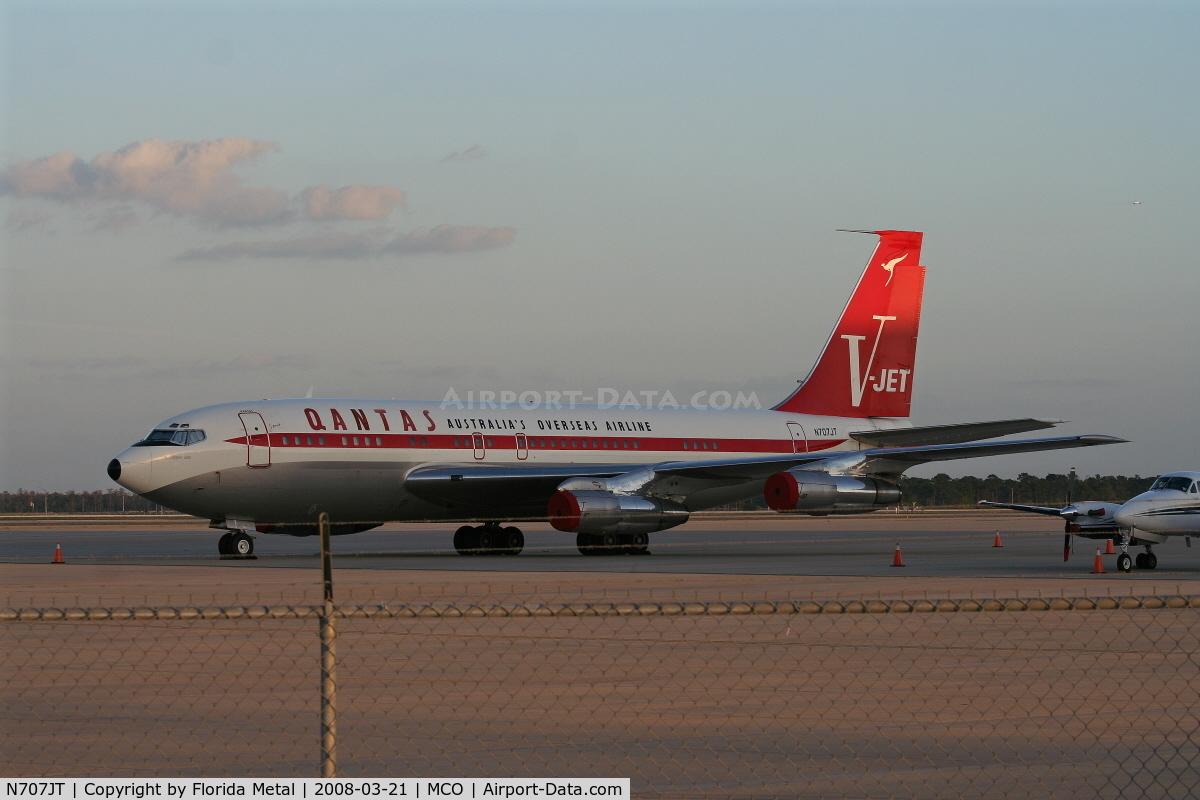 Aircraft N707jt 1964 Boeing 707 138b C N 18740 Photo By Florida Metal Photo Id Ac169135