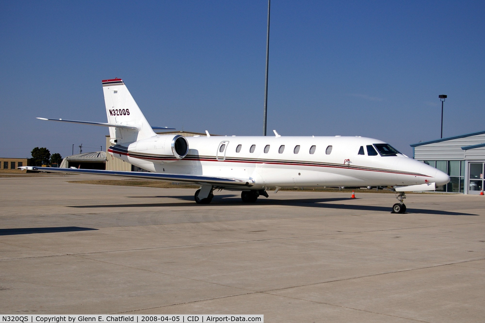 N320QS, 2007 Cessna 680 C/N 680-0169, Executive Jet 320 at Landmark