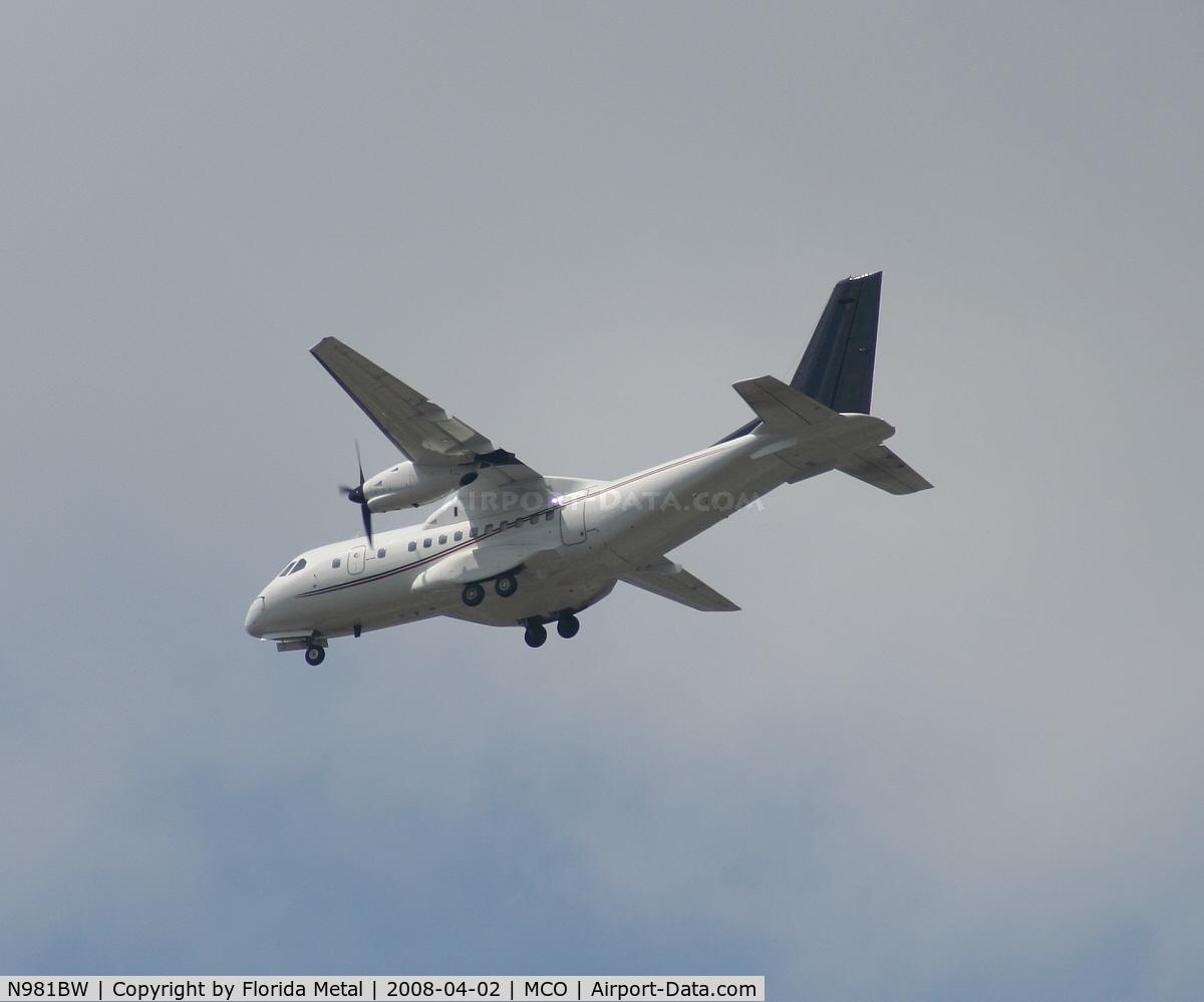 N981BW, CASA CN-235 C/N 007, CN-235