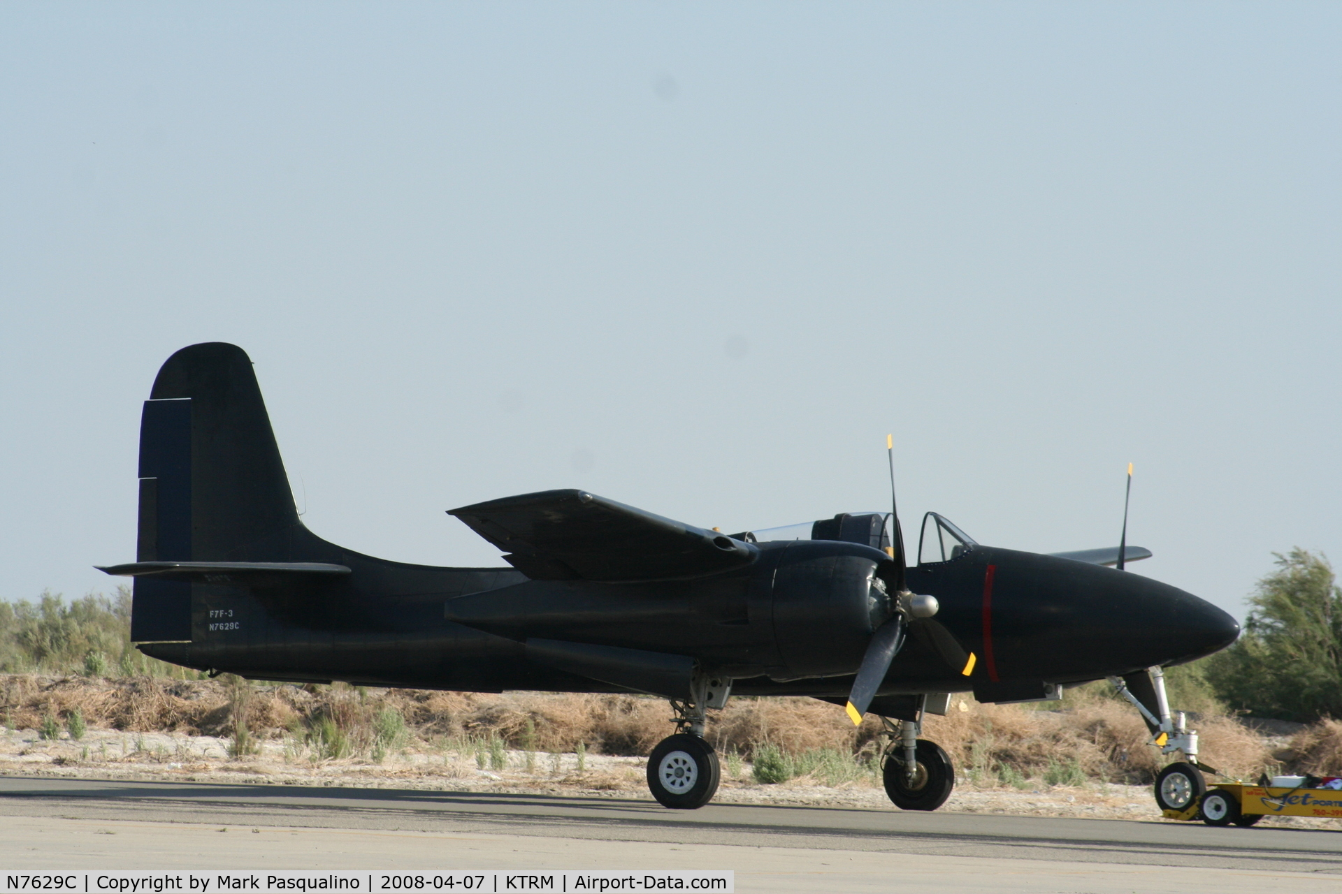 N7629C, 1944 Grumman F7F-3 Tigercat C/N 80374, Grumman F7F-3