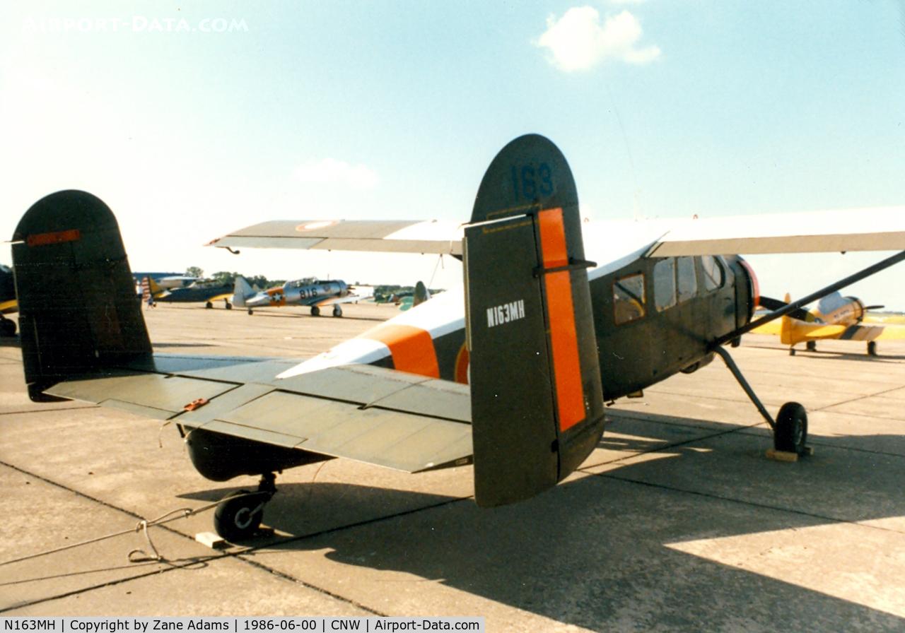 N163MH, Max Holste MH-1521M Broussard C/N 163, Texas Sesquicentennial Air Show 1986
