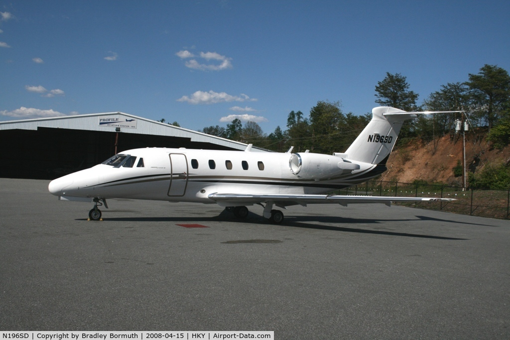 N196SD, 1985 Cessna 650 Citation III C/N 650-0093, A great day to take pictures.