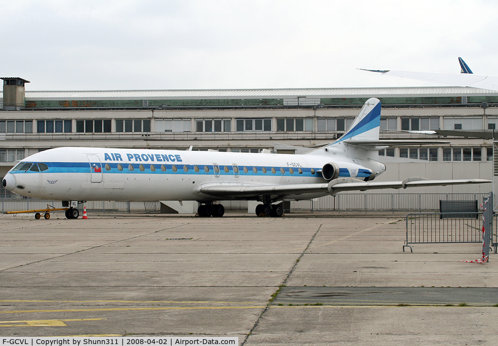 F-GCVL, 1972 Aerospatiale SE-210 Caravelle  12 C/N 273, Preserved at Le Bourget Museum