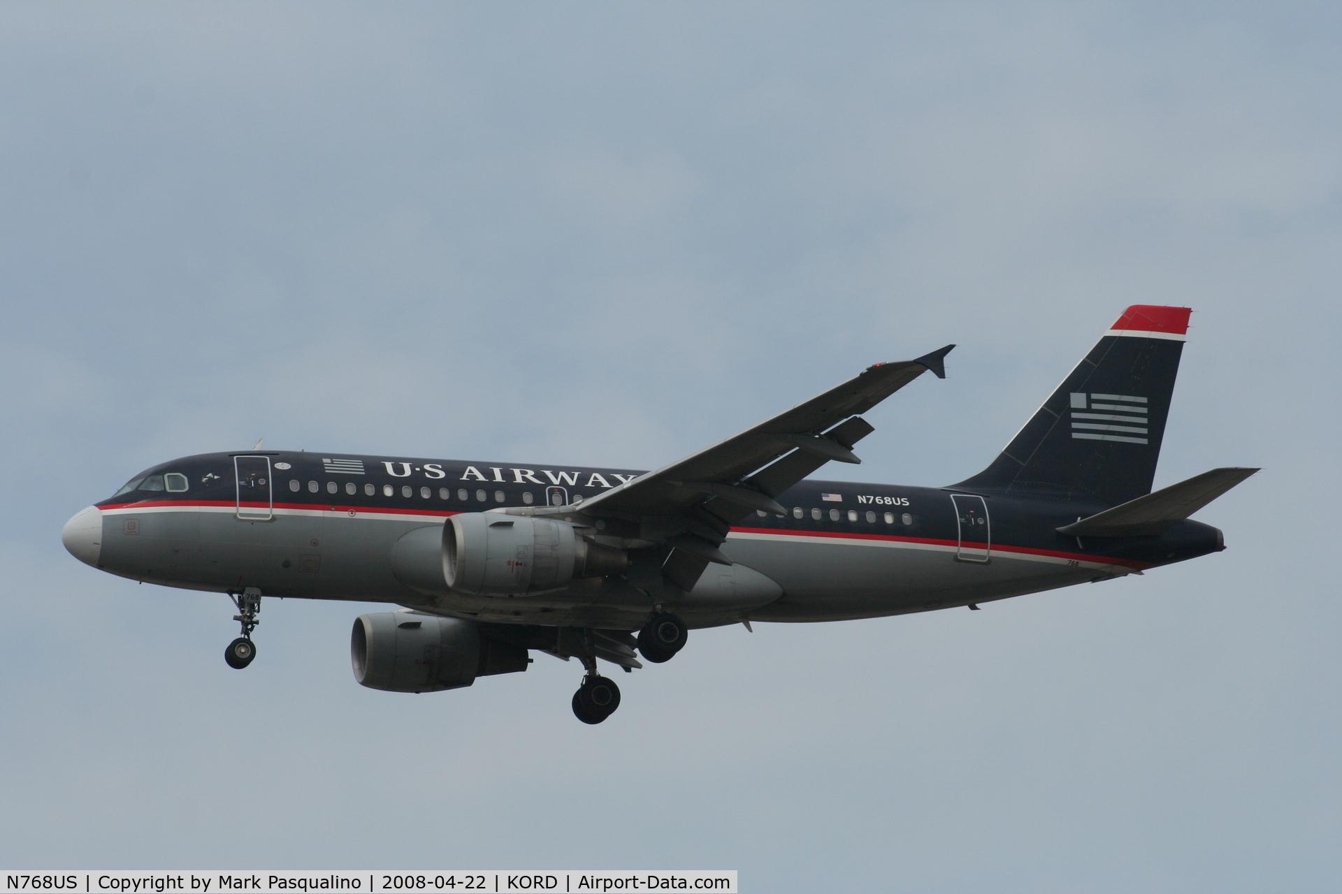 N768US, 2000 Airbus A319-112 C/N 1389, Airbus A319