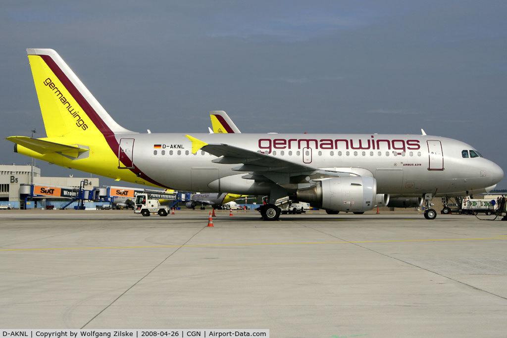 D-AKNL, 1999 Airbus A319-112 C/N 1084, visitor