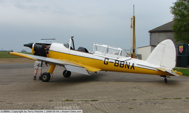 G-BBNA, 1953 De Havilland DHC-1 Chipmunk 22 (Lycoming) C/N C1/0491, Part of the Husband Bosworth Gliding Centre scene