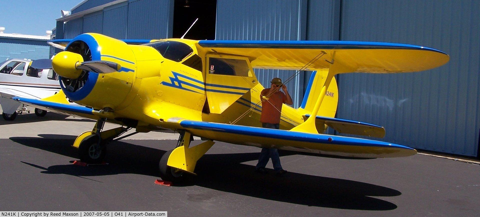 N241K, 1939 Beech D17S Staggerwing C/N 287, Beech Staggerwing