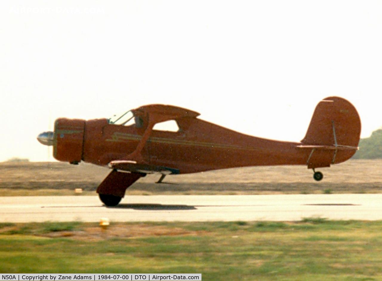 N50A, 1939 Beech D17S Staggerwing C/N 271, Beech Staggerwing at Denton Municipal
