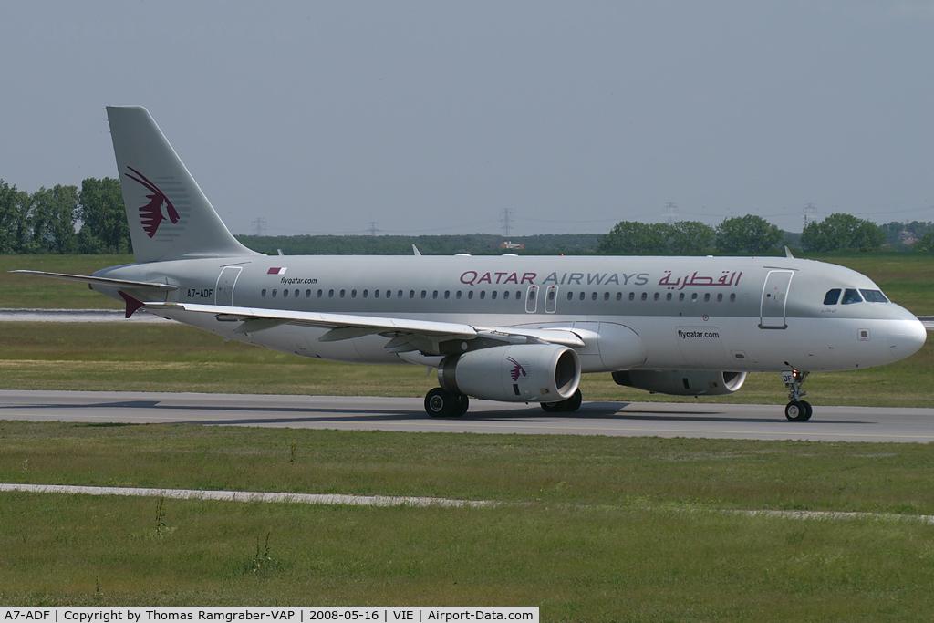 A7-ADF, 2003 Airbus A320-232 C/N 2097, Qatar Airways Airbus A320