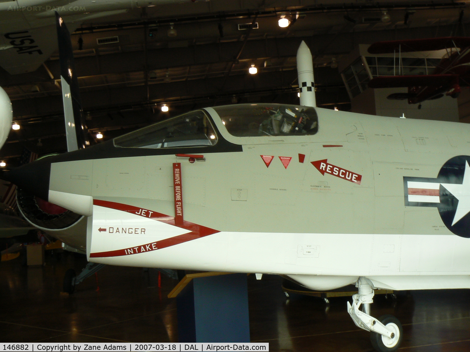 146882, Vought F8U-1P Crusader C/N Not found 146882, At Frontiers of Flight Museum - Dallas, TX