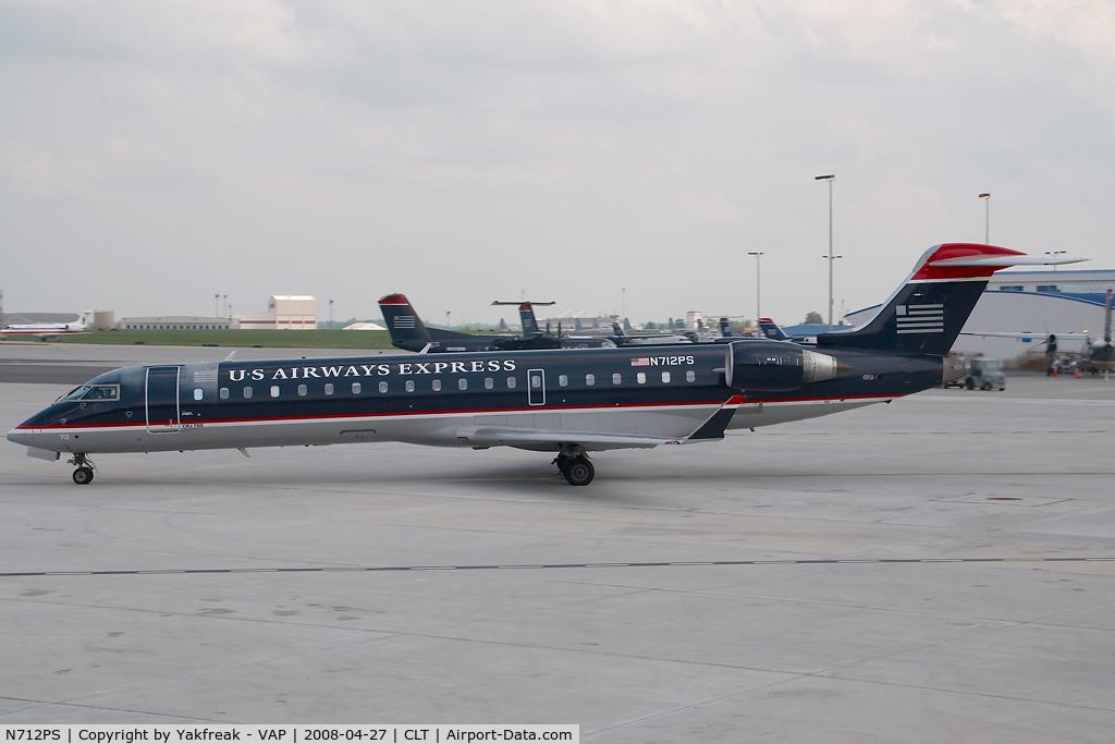 N712PS, 2004 Bombardier CRJ-701 (CL-600-2C10) Regional Jet C/N 10168, PSA Regionaljet 700 in US AIrways colors