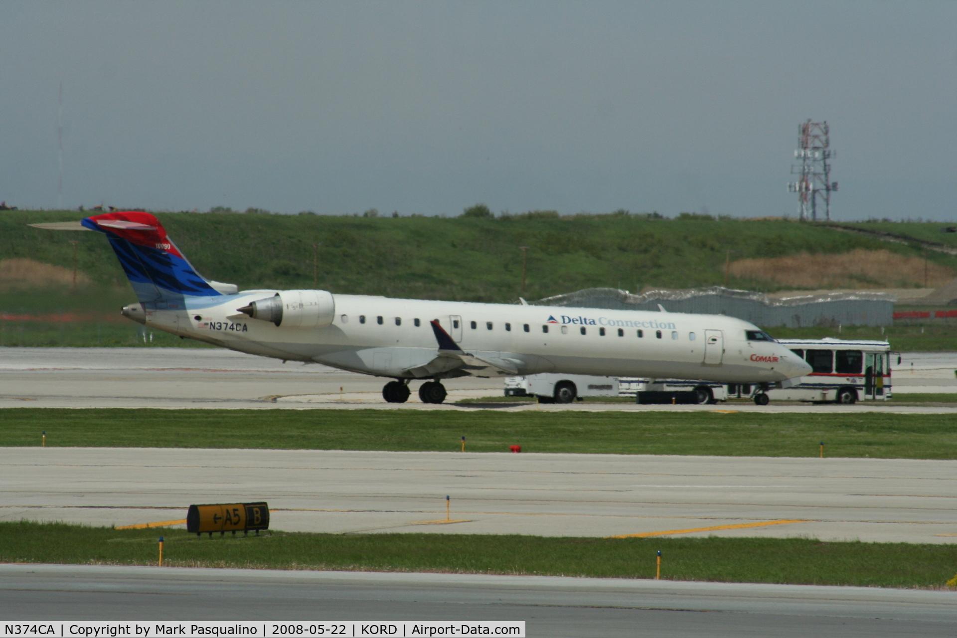 N374CA, Bombardier CL-600-2C10 C/N 10090, CL-600-2C10