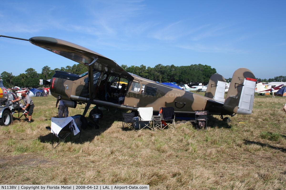 N1138V, 1961 Max Holste MH-1521 Broussard C/N 287, BroussardMH 1521