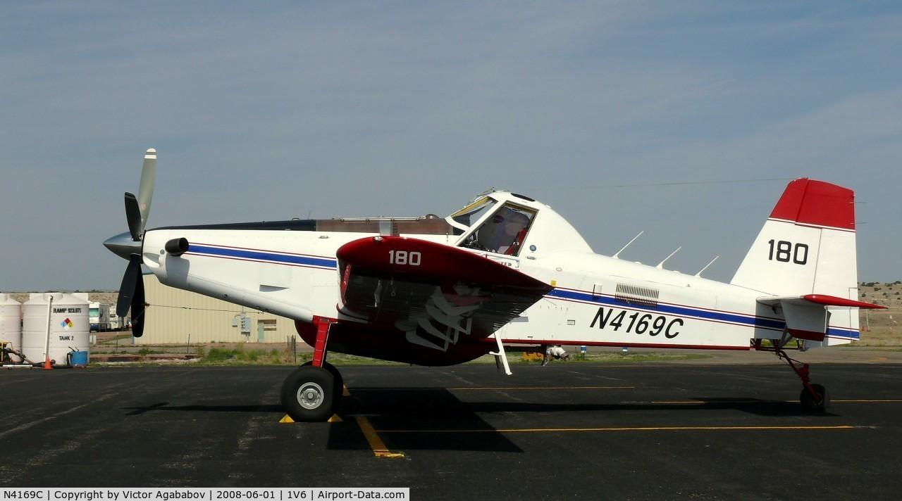 N4169C, 2006 Air Tractor Inc AT-802A C/N 802A-0227, A very big crop duster :-)