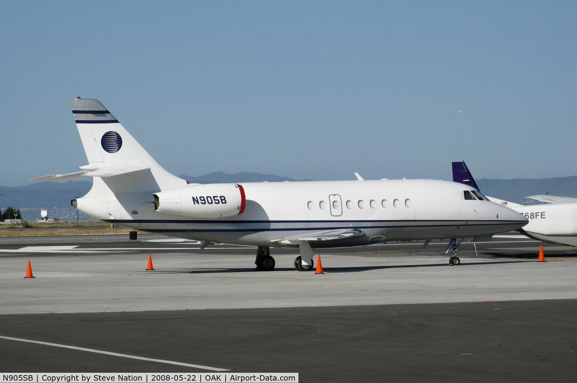 N905SB, 2006 Dassault Falcon 50 C/N 348, 2006 Dassault Aviation MYSTERE-FALCON 50 @ Oakland, CA