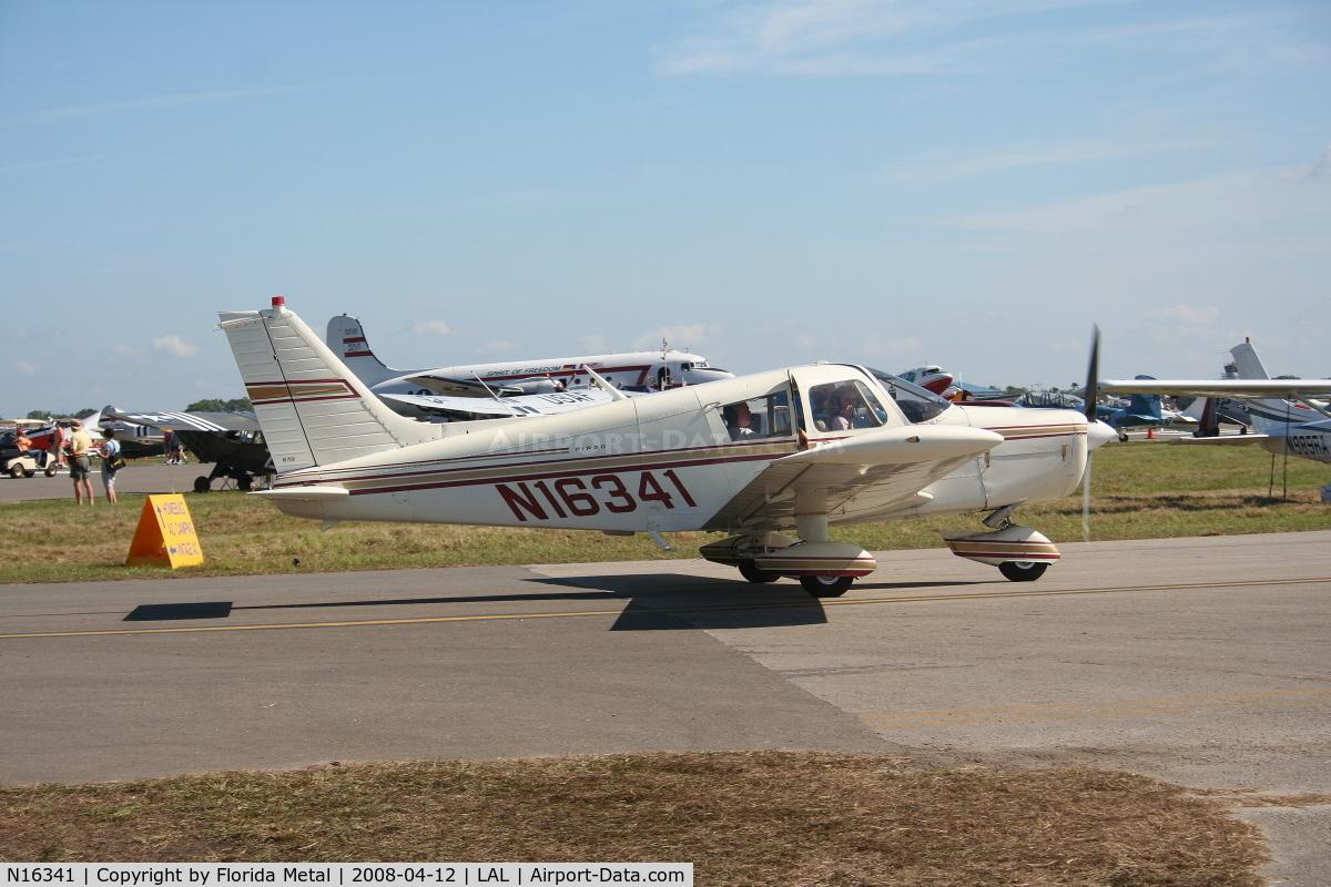 N16341, 1973 Piper PA-28-140 C/N 28-7325246, Piper PA-28-140